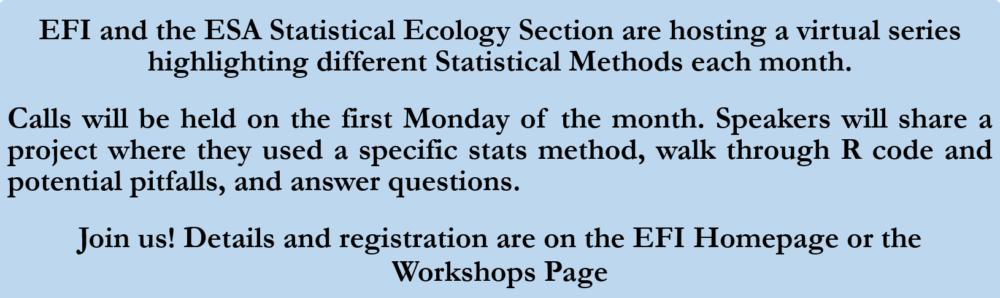 Ecological Forecasting Initiative